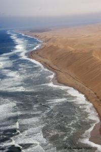 Swakopmund, mur de sable (Namibie)