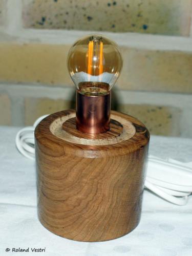 Lampe (chêne)