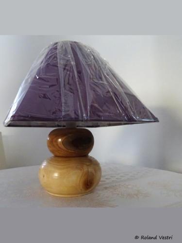 Lampe (érable, cèdre)