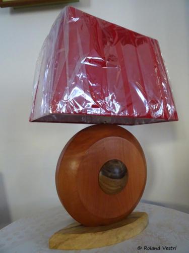 Lampe (érable, poirier, noyer)
