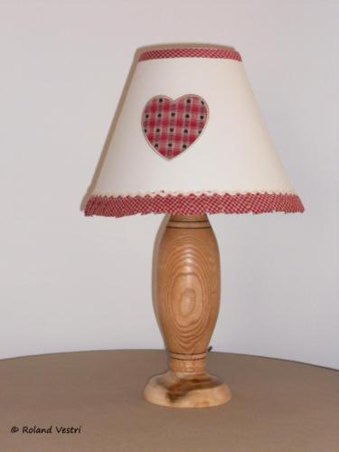 Lampe (frêne)