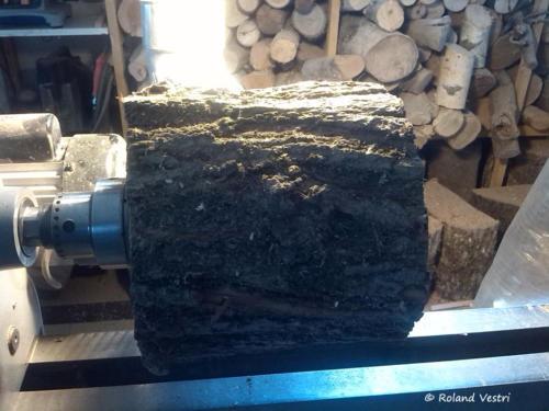 Mortier pilon - Etape 1