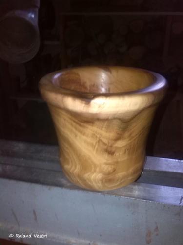 Mortier pilon - Etape 7
